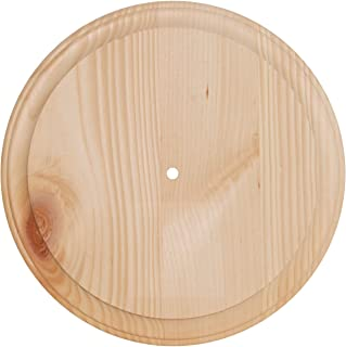 Walnut Hollow Clock Surface, Round