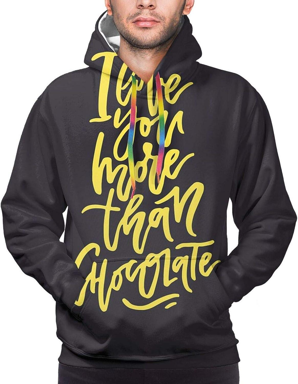 Men's Hoodies Sweatshirts,Black and White Tribal Motifs Pattern Native Artistic Geometric Borders Design