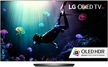 LG Electronics OLED55B6P Flat 55-Inch 4K Ultra HD Smart OLED TV (2016 Model)