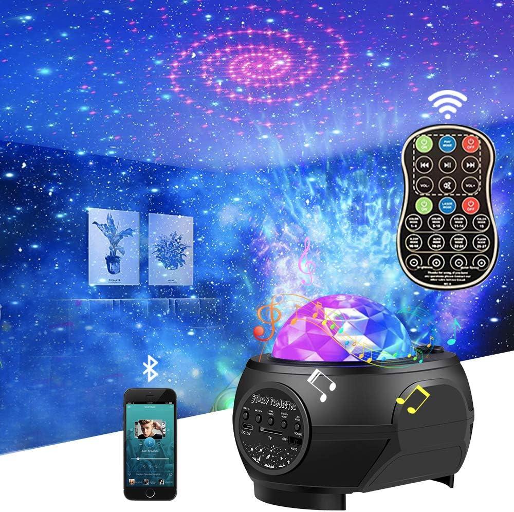 Star Night gift Light Galaxy Remote Projector.Vercarnon Elegant Control Ocean