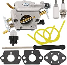 Yooppa Carburetor for Poulan Pro PP5020AV PP5020 PP5020AVX Chainsaw 2 Stroke PP4818A Gas Chainsaw 573952201/573 95 22-01 Craftsman 358.350980 358.350981 358.350982 Zama C1M-W47 Carburetor
