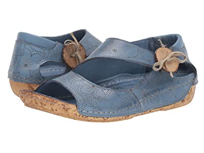 Spring Step Lorelle (Blue) Women