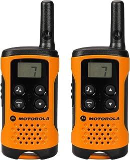 comprar comparacion Motorola TLKR T41 Walkie-Talkie, Pantalla LCD, Naranja, paquete de 2 unidades