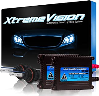 XtremeVision 35W Xenon HID Lights with Premium Slim Ballast - Bi-Xenon 9004 8000K - 8K Medium Blue - 2 Year Warranty
