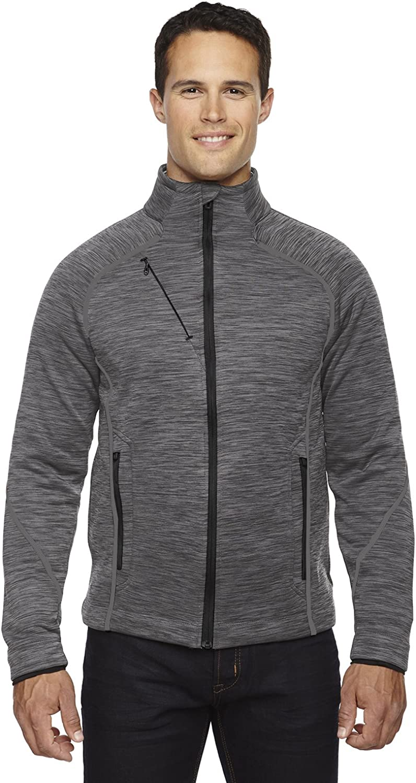 North End Sport Men's Flux New product type Mélange Bonded Fleece Jacket Ranking TOP15