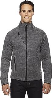 Ash City - North End Sport Red mens Flux Melange Bonded Fleece Jacket (88697)