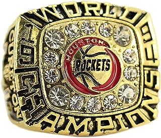 MVPRING Rockets 1994 1995 Hakeem Olajuwon Replica Basketball Championship Ring Size 11
