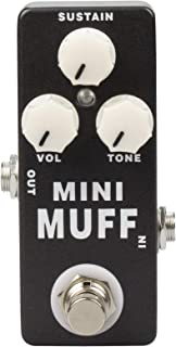 YMUZE Mosky Mini Muff Guitar Effect Pedal Fuzz Pedal Type Full Metal Shell True Bypass