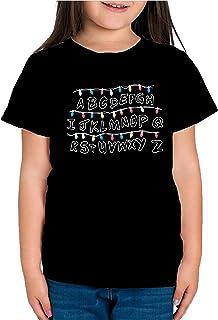 Camiseta de NIÑAS Stranger Things Once Series Retro 80 Eleven Will 015