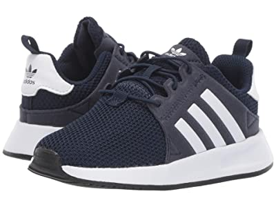 adidas Originals Kids X_PLR EL I (Toddler) (Collegiate Navy/White/Black) Boys Shoes