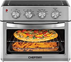 Chefman Air Fryer Toaster Oven, 6 Slice, 26 QT Convection AirFryer w/ Auto Shut-Off, 60..