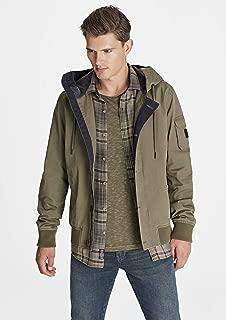 Kapüşonlu Yeşil Ceket