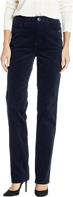 Plush Cord Suzanne Straight Leg