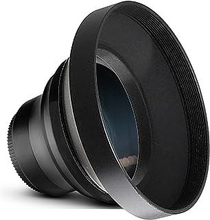 Nw Direct Micro Fiber Cleaning Cloth + Rings 37, 46, 52, 67 High Definition 82mm Circular Polarizing Filter 0.5X Wide Angle Lens with Macro Panasonic Lumix DMC-GX8 HD
