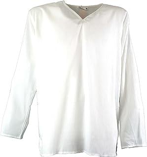 GURU-SHOP, Camisa de Yoga, Camisa Goa, Sintético, Camisas de Hombre