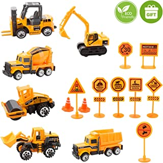 toy construction vehicles set