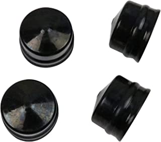 New Pack of 4 Wheel Axle Rubber Hub Caps Replacement for Husqvarna, Weed Eater, Poulan, Sears, Crafstman, Ryobi and Roper,Lawn Mower, Lawn Tractor and Snow Blower 532104757