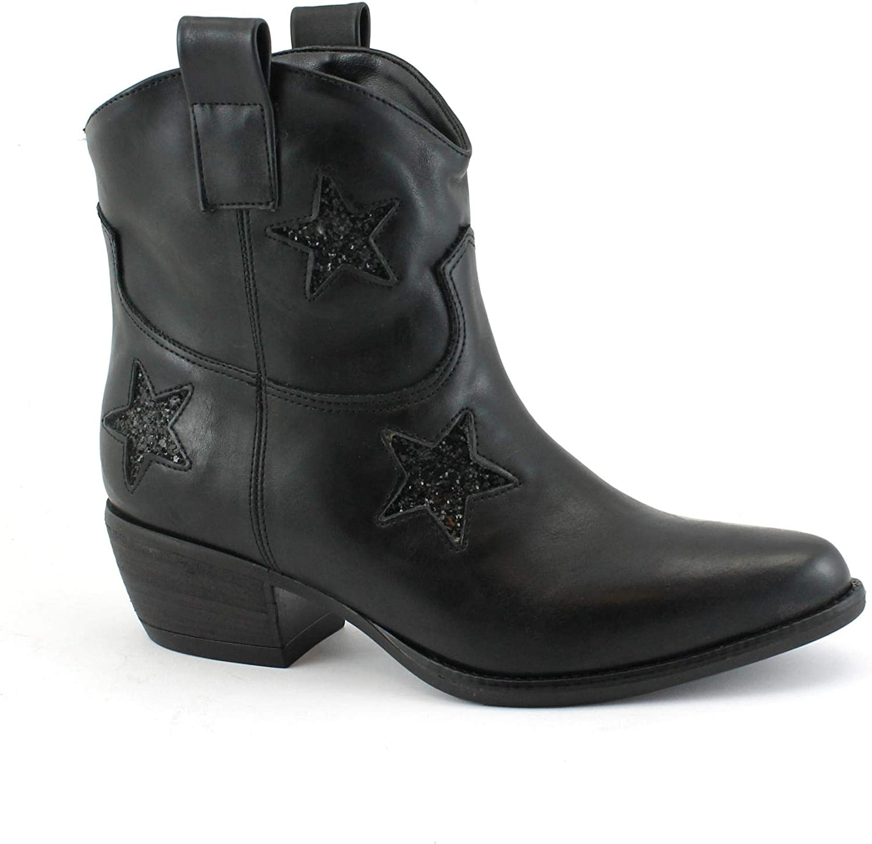 VSI Schuhe Frau Texan Texan Stiefeletten Vegan Ferse Schuhe Made in   meistverkauft