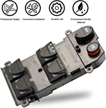 Travay Front Left Drive Side Master Power Window Switch Compatible with 2006-2011 Honda Civic 4-Door Replacement Window Switch 35750SNAA11,35750SNAA13, 35750-SNV-H51