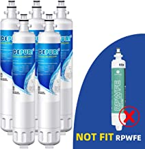 ICEPURE RPWF Refrigerator Water Filter Replacement For GE RPWF(NOT FOR RPWFE), WATER SENTINEl WSG-4, RWF3600A, 5PACK