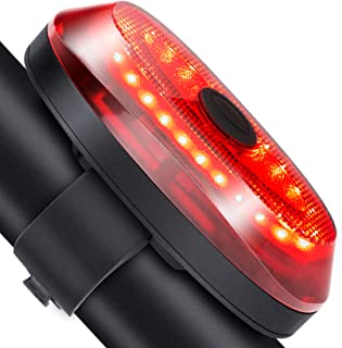Mini LED Bicycle Tail Light USB Rechargeable Bike Rear Lights Waterproof Safety
