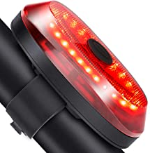 Onvian Smart Bike Tail Light, Ultra Bright USB Rechargeable IP65 Waterproof Auto Brake Sensing Bicycle Rear Lights Easy Mo...