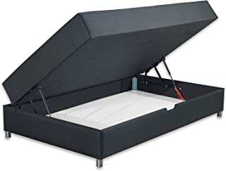 Betten ABCR Schwarzwald Comfortbox Mini Bonellfederkernmatratze Bettkasten Grosse 90x200