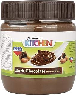 American Kitchen Dark Chocolate Peanut Butter, 340 g