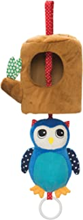 Manhattan Toy Lullaby Owl Pull Musical Crib and Baby Toy
