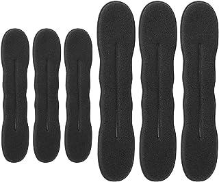 6 pezzi tagliacapelli versione aggiornata forcina spugna clip per capelli styling ciambella capelli twist wreath strumento...