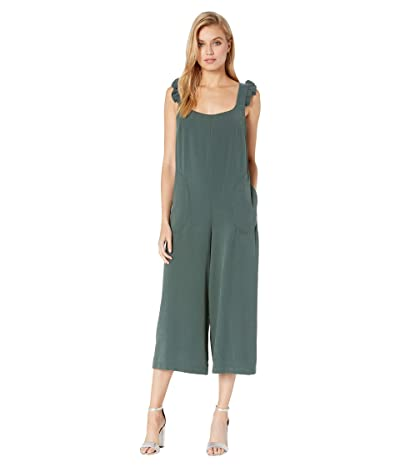 BCBGeneration Ruffle Detail Culotte Jumpsuit UIR9226332 (Forest) Women