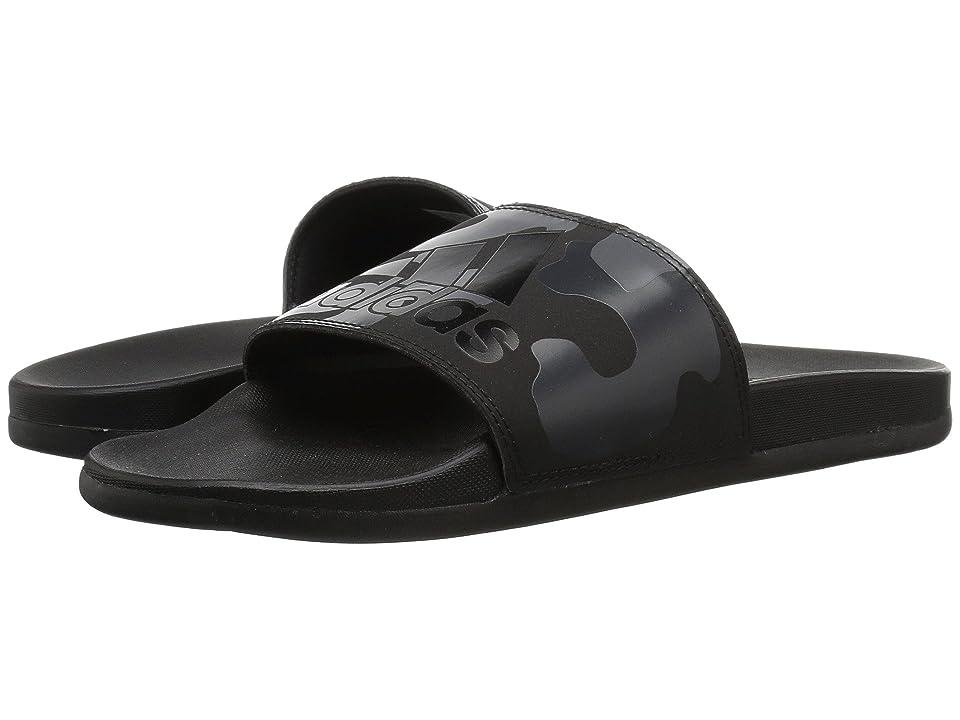 adidas Adilette CF+ Link GR (Black/White/Carbon) Men