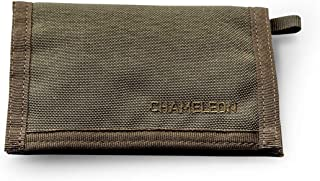 Velcro Bifold Mens Wallet-Tactical Wallet-Thin Travel Front Pocket