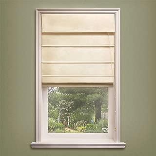 Chicology Standard Cord Lift Roman Shades Soft Fabric Window Blind, 23