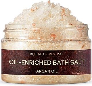 Zeitun Wellness Restoring Natural Bath Salt | Ritual of Revival | with Moroccan Argan Oil | Bath Salts for Relaxation | De...