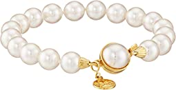 1 Row 8mm Pearl Bracelet