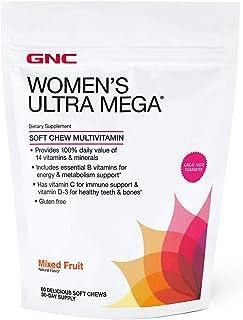 GNC Womens Multivitamin Soft Chew - Mixed Fruit