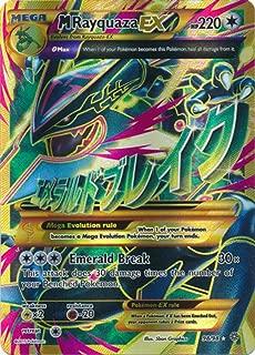 Pokemon - Mega-Rayquaza-EX (98/98) - Ancient Origins - Holo