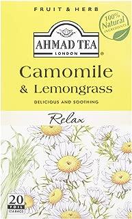 Ahmad Tea Fruit Herbs Chamomile & Lemongrass, 20 Tea Bags