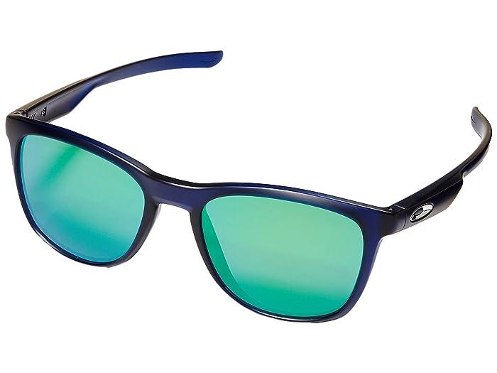 Oakley Trillbe X (Matte Translucent Sky Blue/Jade Iridium) Fashion Sunglasses