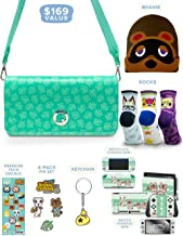 Controller Gear Official Nintendo Animal Crossing: New Horizons Merch Collectors Gift Set - Sling Bag, Switch + Switch Lit...