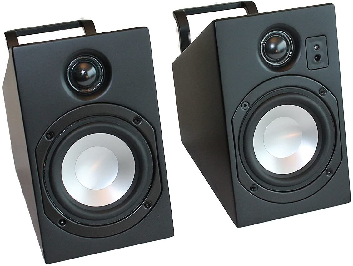Vanatoo Transparent Zero Powered Speakers 2 Black Set Jacksonville Mall Limited time cheap sale of