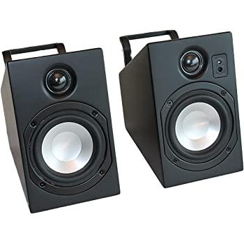 Vanatoo Transparent Zero Powered Speakers (Black, Set of 2)