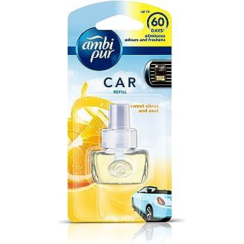 Ambi Pur Sweet Citrus and Zest Car Air Freshener Refill (7.5 ml)