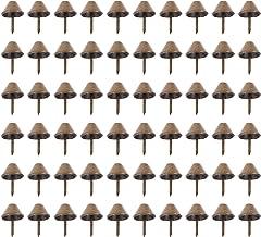 Angoily 100Pcs Antieke Bekleding Kopspijkers Meubels Nagels Pins Kit Vintage Bekleding Nagels Metalen Tags Stud Voor Meube...