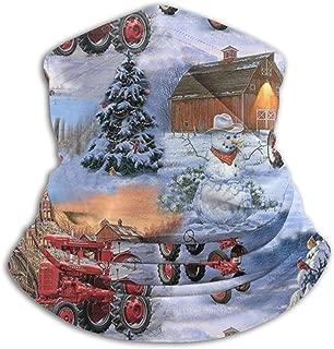 SDSCfhk International Harvester Farmall Tractor Cotton Neck Warmer Outdoor Windproof Dust-Free, Walking, Running, Neck Gaiter