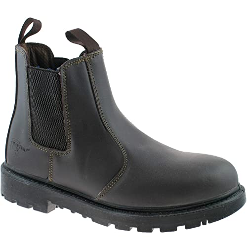 5a1d5efe189 NWT Mens Black Safety Leather Work Boots by Northwest Chelsea Dealer ...
