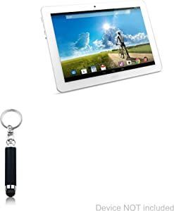 Stylus Pen for Acer Iconia Tab 10 A3-A20 (Stylus Pen by BoxWave) - Bullet Capacitive Stylus, Mini Stylus Pen with Keyring Loop for Acer Iconia Tab 10 A3-A20 - Jet Black