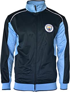 Manchester City Jacket Track Soccer Adult Sizes Soccer Football Official Merchandise