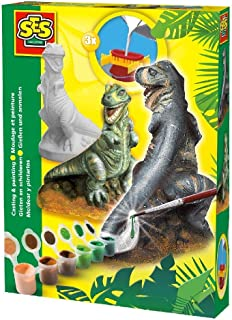 SES-Creative T-Rex in Gesso 1283